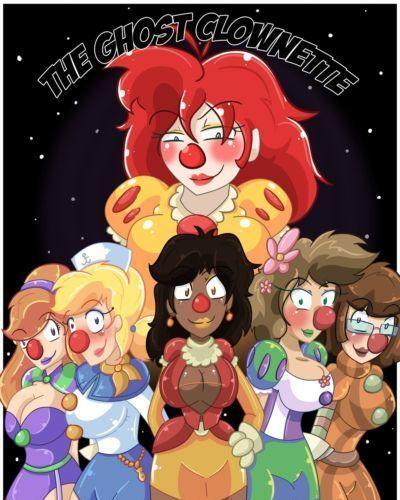 Scooby Doo die ghost clownette
