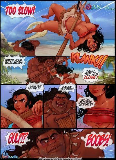 Moana Porn Comic