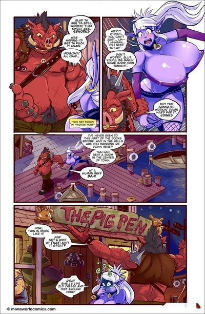 The Pig Pen- Mana World
