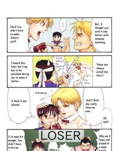 (C60) Saigado The Yuri & Friends Fullcolor 4 SAKURA vs. YURI EDITION (King of Fighters, Street Fighter) Decensored -..
