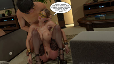 Clara Ravens 4- Colombina's Illusion - part 25