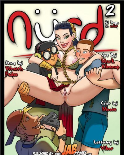 Jab Comix- NURD Issue 2
