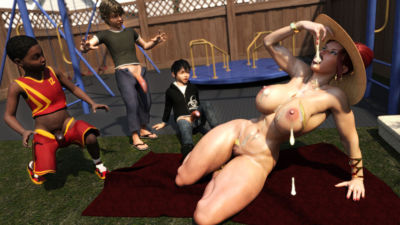 Morgan – Playground Fun- Zz2tommy - part 3