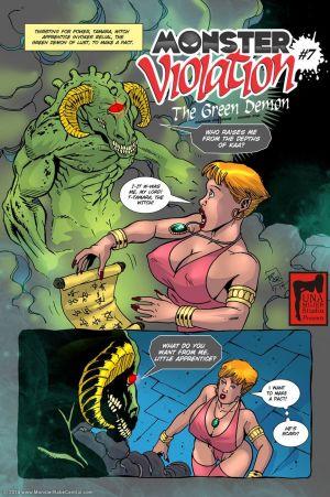 Monster Violation 7 - The Green Demon