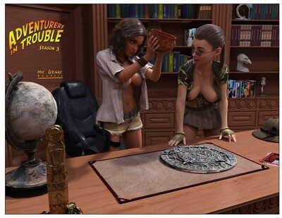 Mr. Boner- Adventurer in Trouble 3