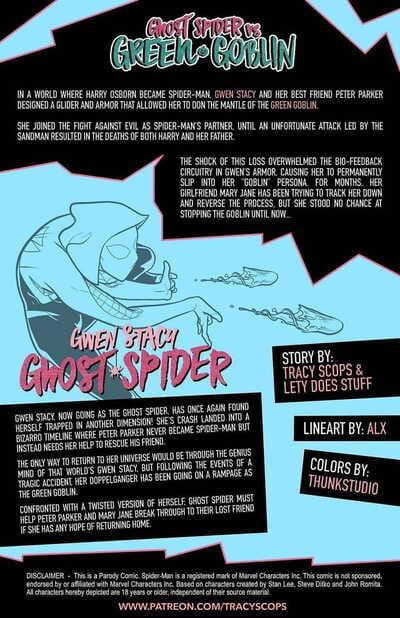 Ghost Spider VS Green Goblin