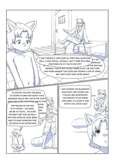 Furry Fantasy XIV 1 - part 2