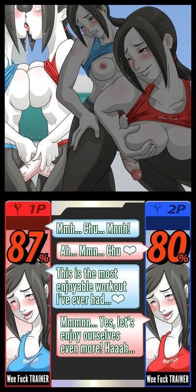Super Sexual Battle Mirror Match 1 - Plach - part 2