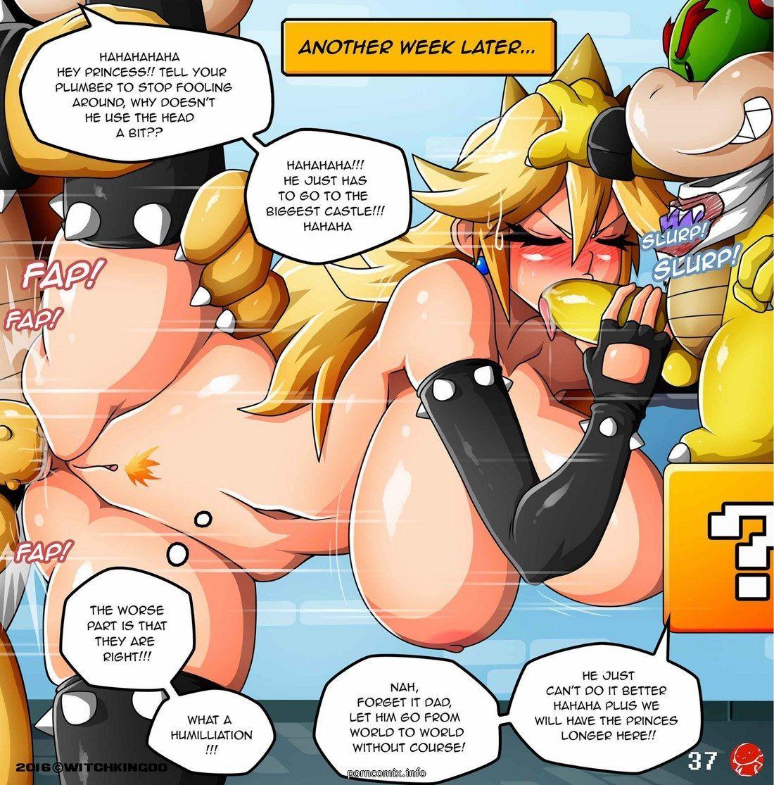 Mario Hentai Comic