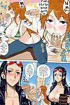 (C81) [Choujikuu Yousai Kachuusha (Denki Shougun)] MEROMERO GIRLS NEW WORLD (One Piece)  {doujin-moe.us} [Decensored] [Colorized]