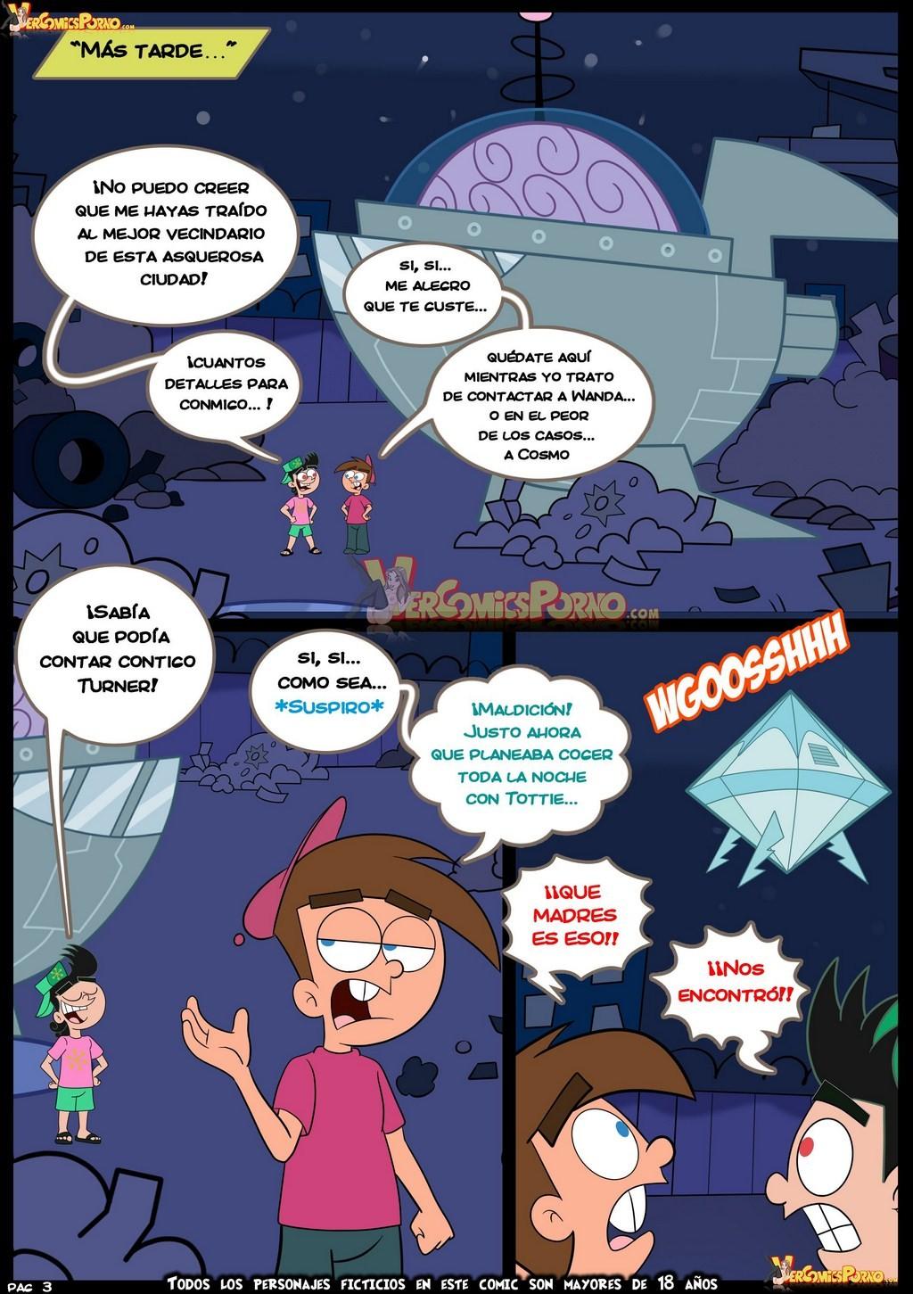 Fairly Oddparents Hentai Comics