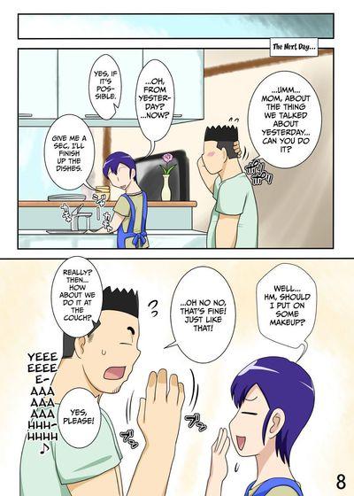 [Freehand Tamashii] Yome ga Hataraiteru Aida, Okaasan ga Suru Kubiwa. - While My Wife\