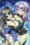 (C84) [Tsuki no Hikari Keikaku (Tokyo Yamane, Yuki Higasinakano, Teppeki Kyojin)] Chou Neneki Game Neptune (Hyperdimension Neptunia)  [SMDC]