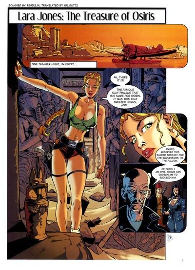 Lara Jones - The Treasure Of Osiris