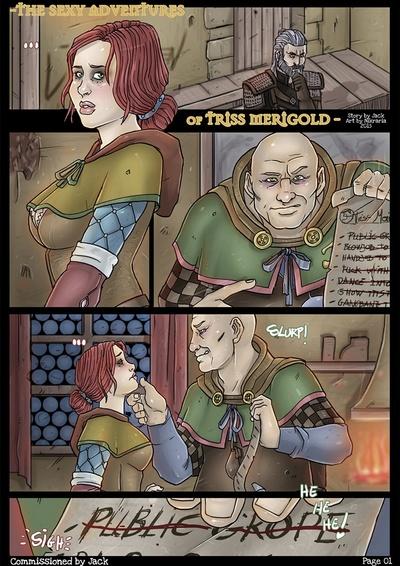 The Sexy Adventures Of Triss Merigold