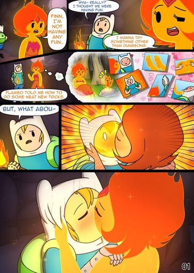 MisAdventure Time 3 - Vault Of Boners