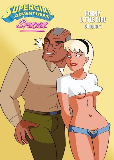 Supergirl Adventures 1 - Horny Little Gich
