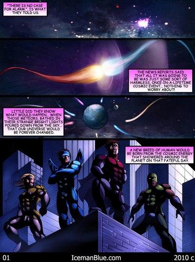 Cosmic Heroes 1