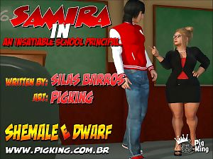 Pig King- Samira In- Insatiable School Principal