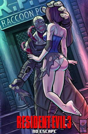 Hombre-Blanco- Resident Evil 3- No Escape