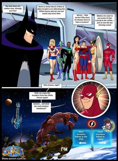 Se Liga Justica- It Up League, Justice 1- Seiren - part 3