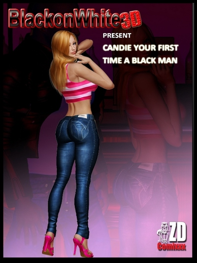Candie Your First Time - BlackonWhite3D