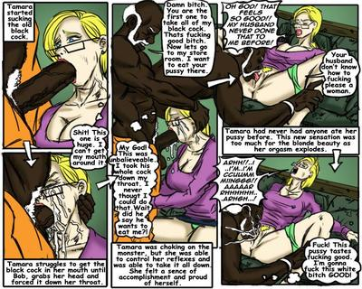 Teach Tamara- illustrated interracial - part 2