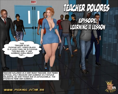 Teacher Dolores- Learning a Lesson (Pig King)