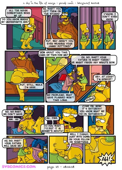 A Day in Life of Marge (The Simpsons) - part 2
