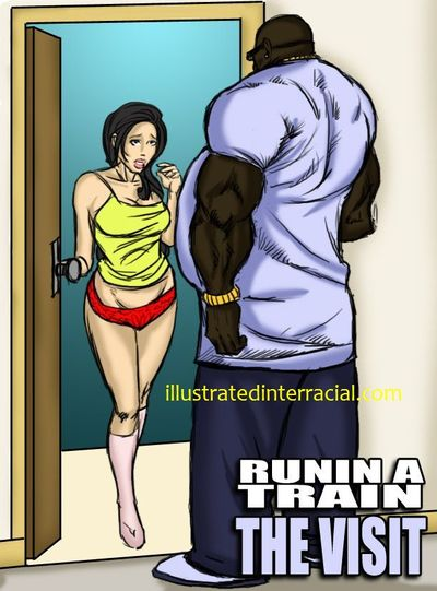Runnin A Train - illustrated interracial
