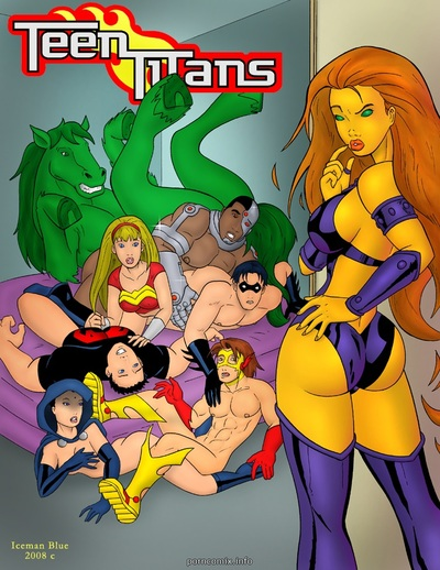[Iceman Blue] Teen Titans- Sex Education