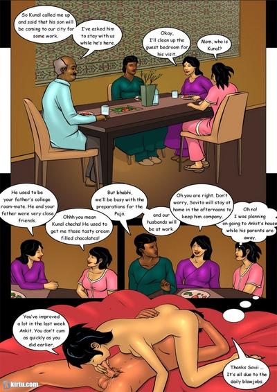 Savita at 18 2 - The Naughty Hostess