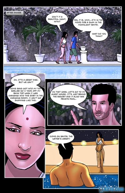 Savita Bhabhi In Goa 1 - Beautiful Beachch - part 2