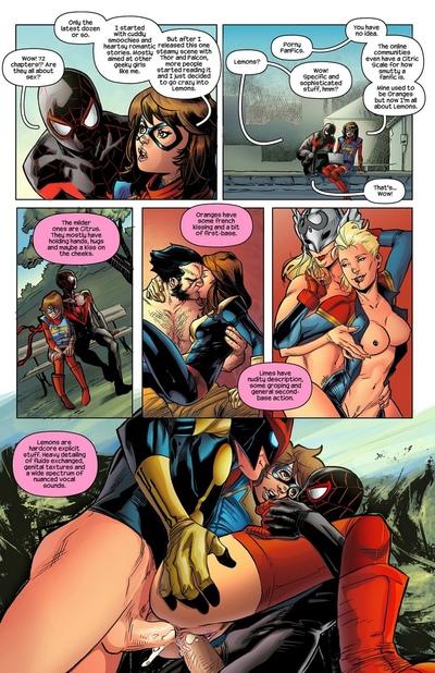 Ms Marvel Spider-Man