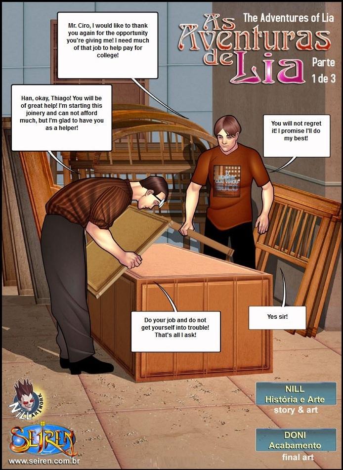 Lia\'s Adventures 05- Seiren
