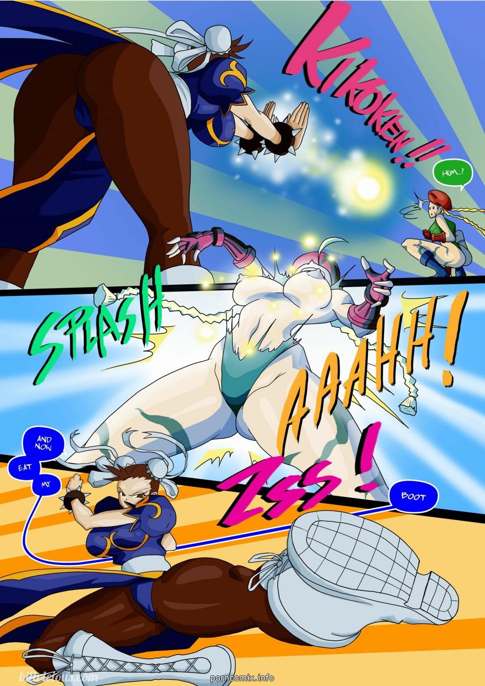 Street Fighter XXX