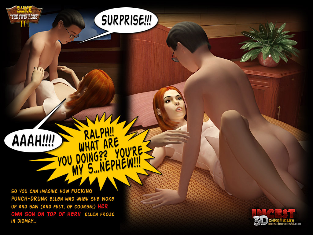 Ranch The Twin Roses. Part 3- Incest3DChronicles - part 3