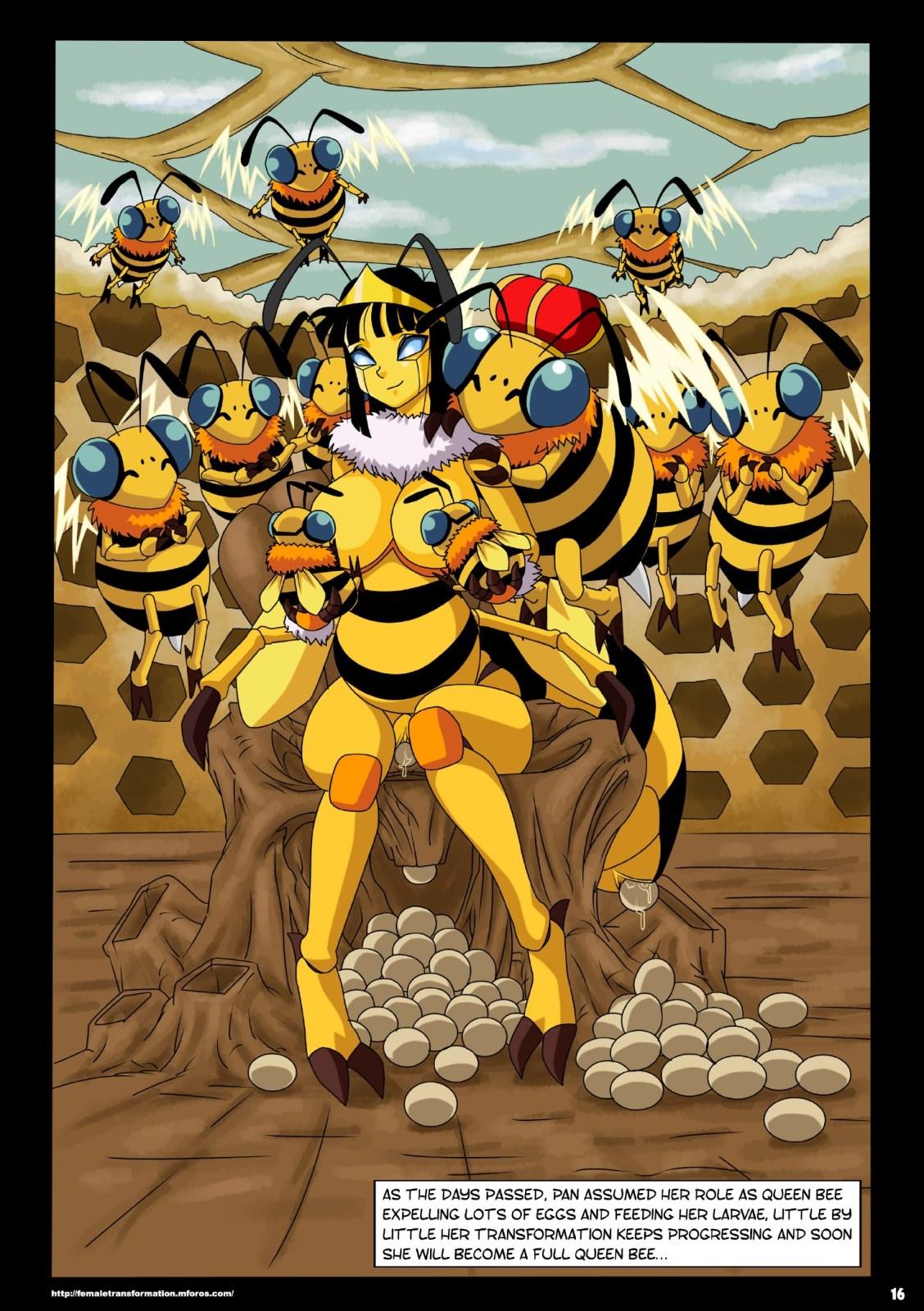 Dragon Ball- Queen Bee