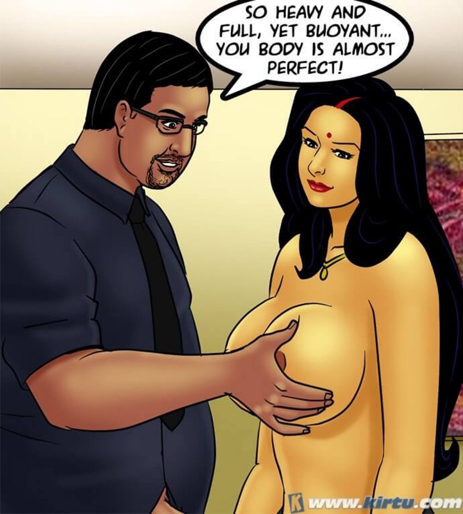 Savita Bhabhi 73- Caught in the Act - part 4