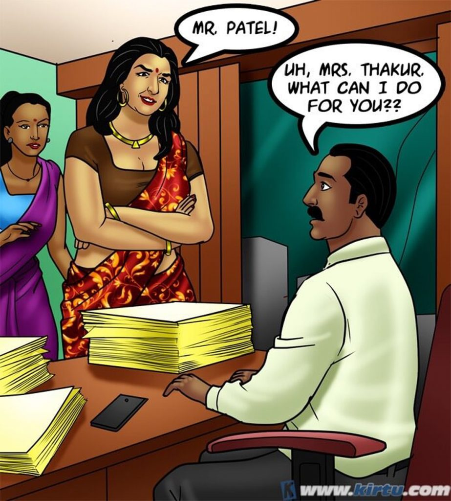 Savita Bhabhi 73- Caught in the Act - part 7