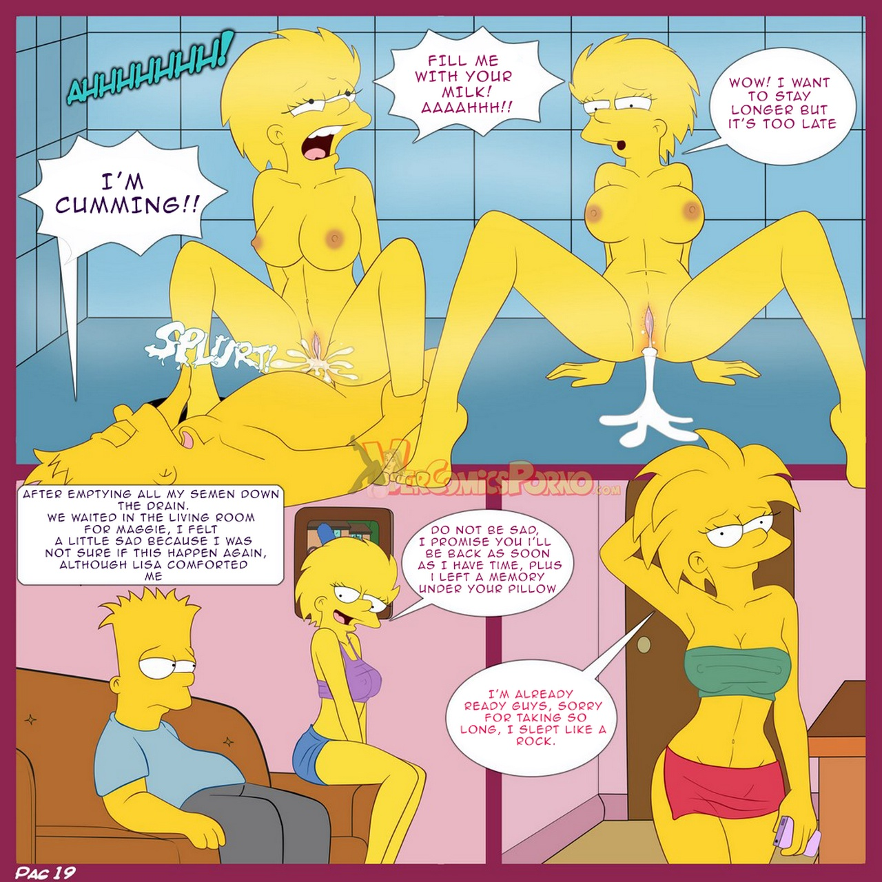 The Simpsons 1 - A Visit From The Sisterch - part 2