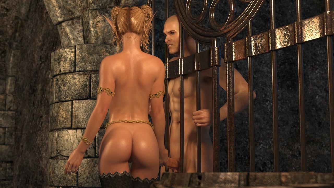 Elven Desire - Prison Perils 1 - part 2