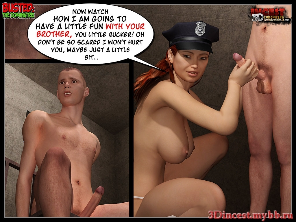 Busted 2 - The Dominatrix - part 2