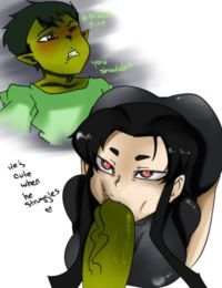 The Teen Titans- Bitch Boy –