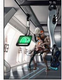 Art of Jaguar- Captain of Space