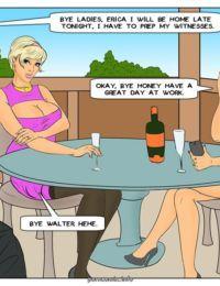 Interracial Comic – Fantasies come true