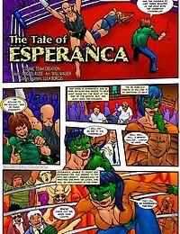 CatFightCentral- The Tale of Esperanca