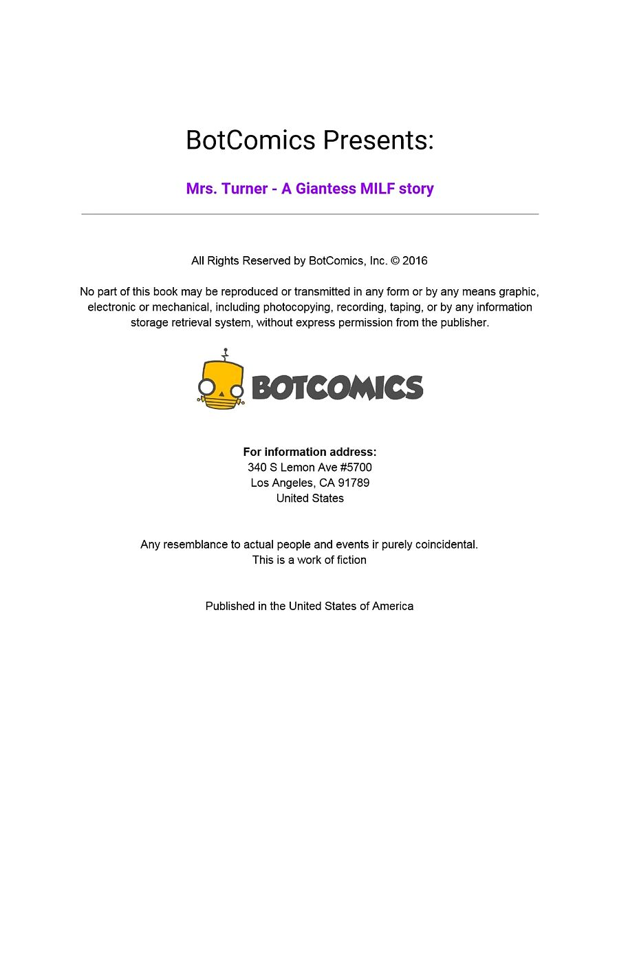Bot- Mrs. Turner Issue 06