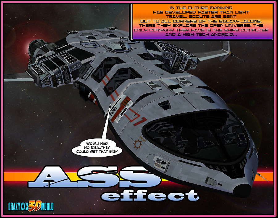 Crazyxxx3Dworld- Ass Effect Vol. 2