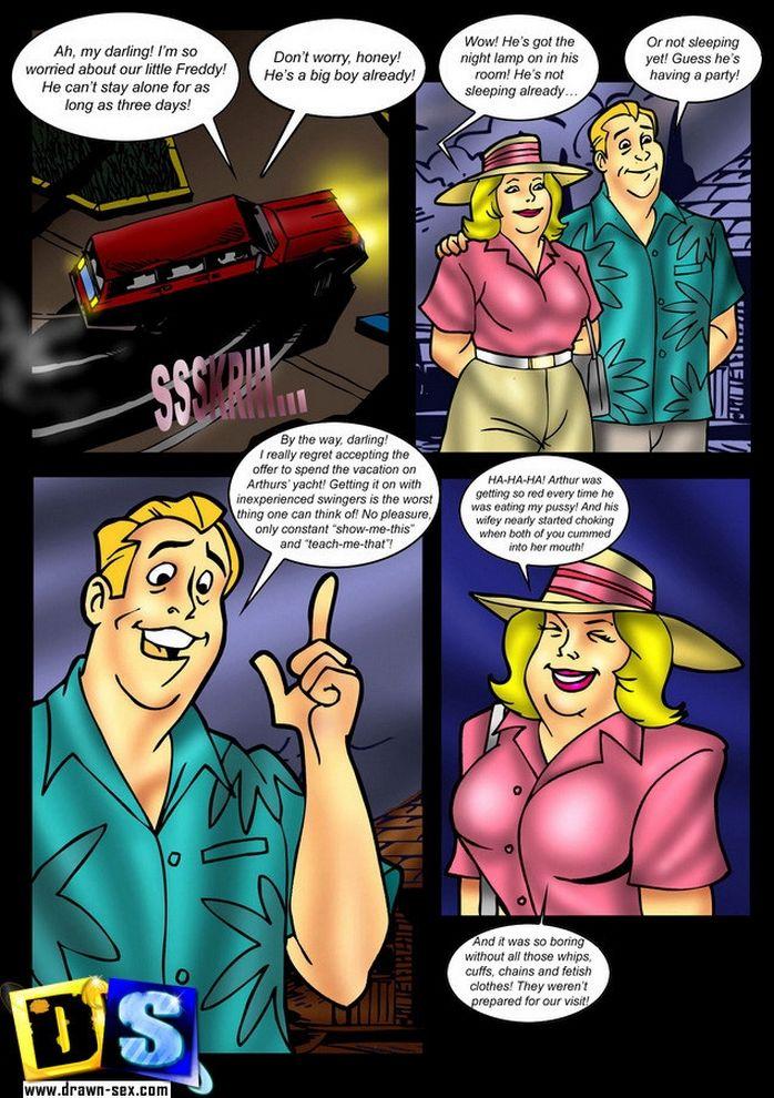 Scooby Doo-Solve Mystery sex